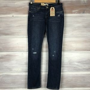 Levi's Girls 711 Skinny Jeans Distressed